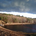 Dark Clouds at the East Brimfield Dam
